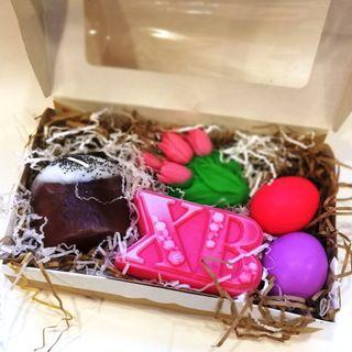 Large set of handmade soap For Easter