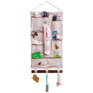 Universal scroll / Wall organizer for bathroom