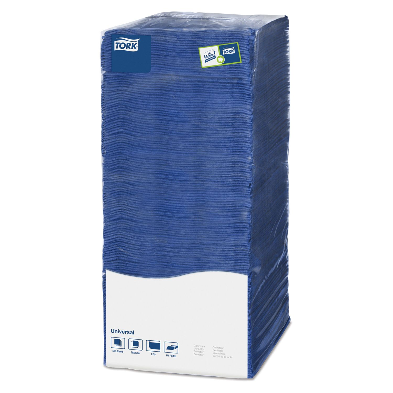 TORK / Napkins Big Pack dark blue, 25x25, 500 pcs.