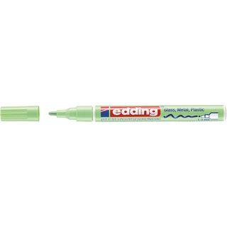 Edding / Marker varnish glossy, round nib, 1-2 mm Pastel green