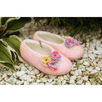 Children's slippers 'Smile' handmade