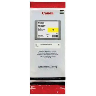 Inkjet cartridge CANON (PFI-320Y) for imagePROGRAF TM-200/205/300/305, yellow, 300 ml, original
