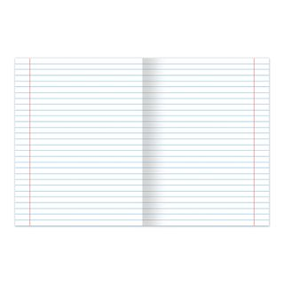 Notebook GREEN cover, 18 sheets of