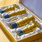 Festive 'Anniversary' set of zirconium in a gift wooden casket - view 7