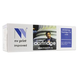 Laser cartridge NV PRINT (NV-718C) for CANON LBP7200Cdn / MF8330Cdn / 8350Cdn, cyan, yield 2900 pages.