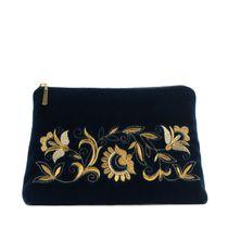 Velvet cosmetic bag 'Dreams'