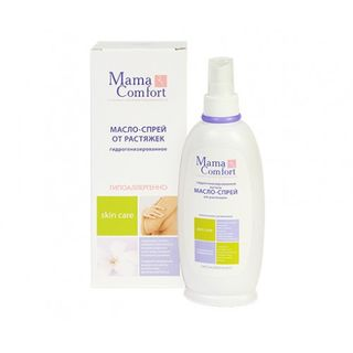 Hydrogenated light oil spray Mama Com.fort from stretch marks, 250 ml