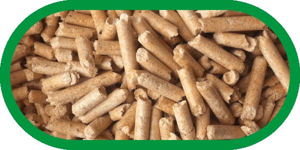 Komi firewood / Pellets gray industrial (ash content 0.7%) needles