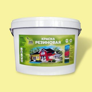 Paint rubber PromColor for paving slabs
