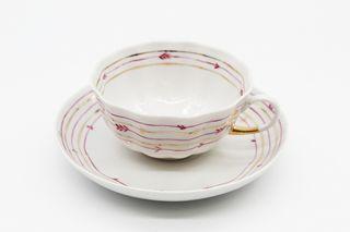 Dulevo porcelain / Set tea cup with saucer, 12 pcs., 220 ml Delicate tulip