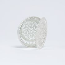 "Souvenir ""the Mirror"" silvering, Kazakovo Filigree"