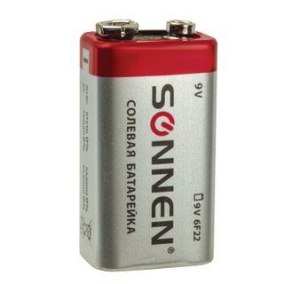 SONNEN / Battery Krona (6R61, 6F22, 1604), salt, 1 pc., Foil