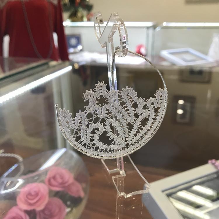 "Earrings ""Moonlight flower"""