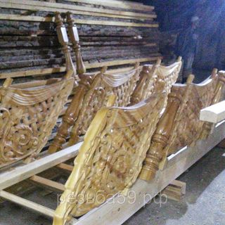 Carved stairs