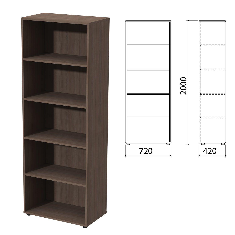 """Wardrobe (rack) """"Priority"""", 720x420x2000 mm, 4 shelves, garbo"""