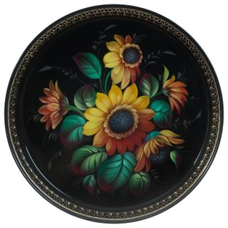 Zhostovo / Tray, author Klimova N. 30 cm