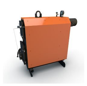 Boiler heating wood Flames COD-25GT