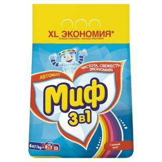 "Washing powder-machine MIF 3 in 1 ""Fresh color"" 4 kg"