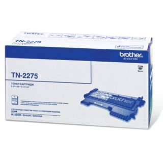 Laser cartridge BROTHER (TN2275) HL-2240R / 2240DR / 2250DNR and others, original, yield 2600 pages