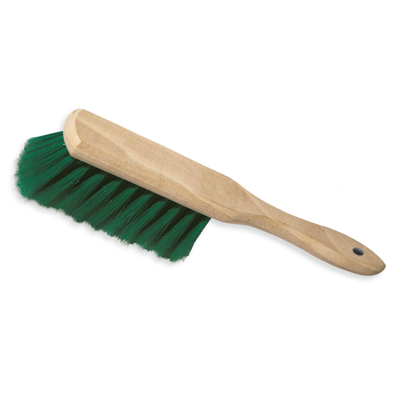 YORK / Cleaning brush, handle 18 cm, bristle length 6 cm, width 4 cm, wooden