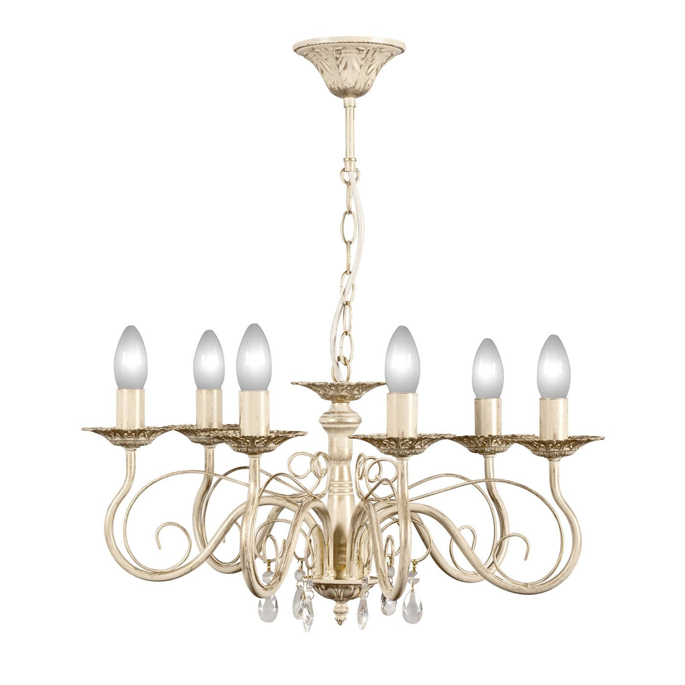 PETRASVET / Pendant chandelier S1020-6, 6xE14 max. 60W