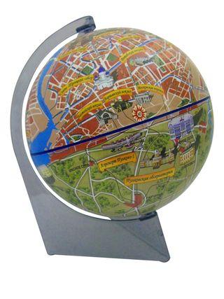 Gift globe city Saint Petersburg