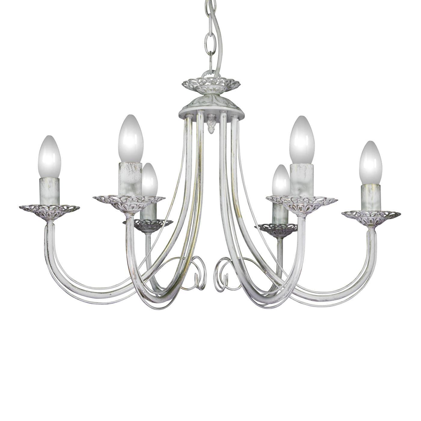PETRASVET / Pendant chandelier S1165-6, 6xE14 max. 60W