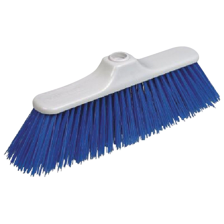 """VILEDA / Plastic brush """"Economics"""" for cleaning, width 30 cm, bristles 8 cm, fastening Euro thread"""