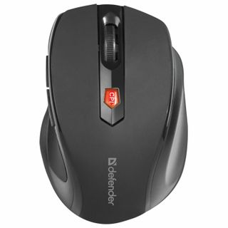 DEFENDER / Wireless Mouse Ultra MM-315, USB, 5 buttons + 1 wheel-button, optical, black
