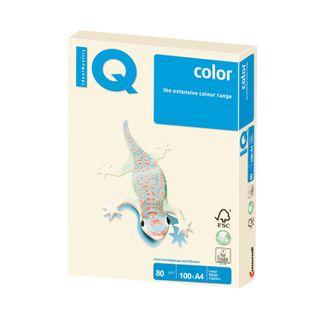 IQ COLOR / A4 paper, 80 g / m2, 100 sheets, pastel, cream