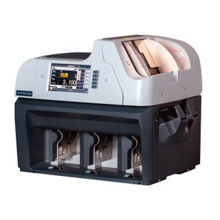 Counter-sorter of banknotes MAGNER 350, 1100 banknotes / min., IR-, UV- magnetic detection, 3 trays