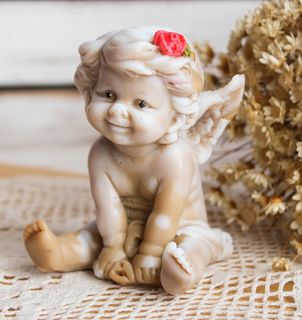 Hand Painted Soap Angel