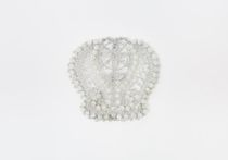 """Lacy brooch """"Crown of the Empire-2"""", Madame Cruje"""
