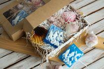 Set of handmade soap Sea