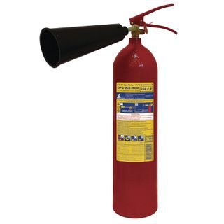 FROST / Carbon dioxide fire extinguisher OU-2, VSE (liquid and gaseous substances, electrical installations)