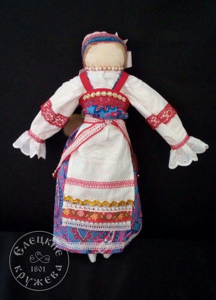 "Yelets lace / Textile doll ""Narodnaya"""