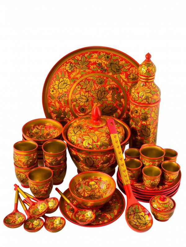 Set of tableware 'Autumn', 35 items