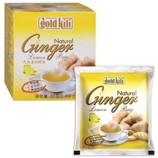 "GOLD KILI / Natural ginger with lemon ""Ginger Lemon"", 20 sachets, 4 g each"