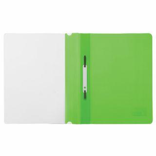 BRAUBERG plastic folder, A4, 130/180 µm, light green