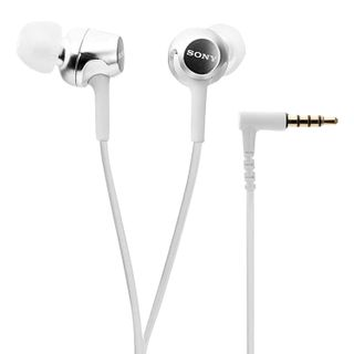 SONY / Headphones MDR-EX155, wired, 1.2 m, in-ear, stereo, white