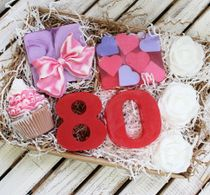 Gifts for women on birthday a Large set of handmade soap with any figure