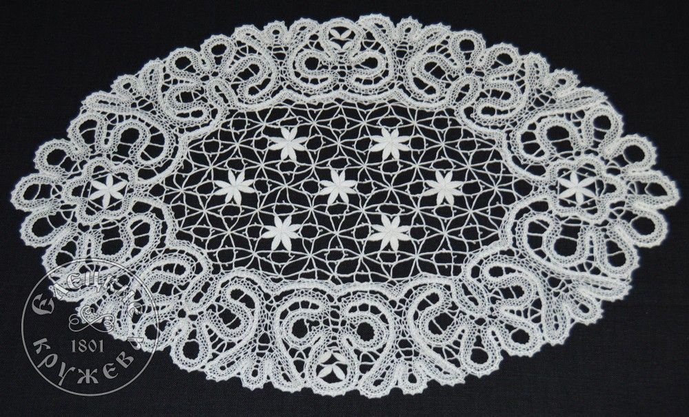 Yelets lace / Lace napkin С679