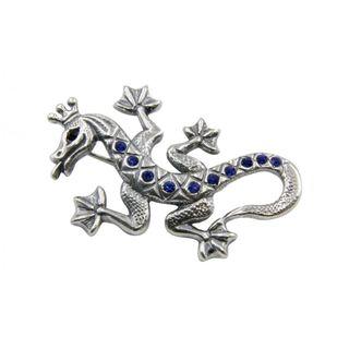 """Brooch 10057 """"Royal Lizard"""""""