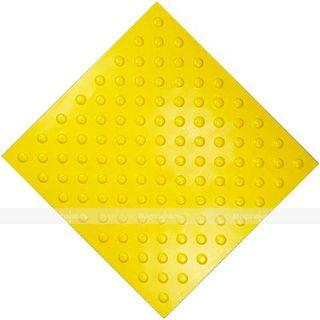 PVC tactile tile, chess arrangement, 500 x 500 mm * 7