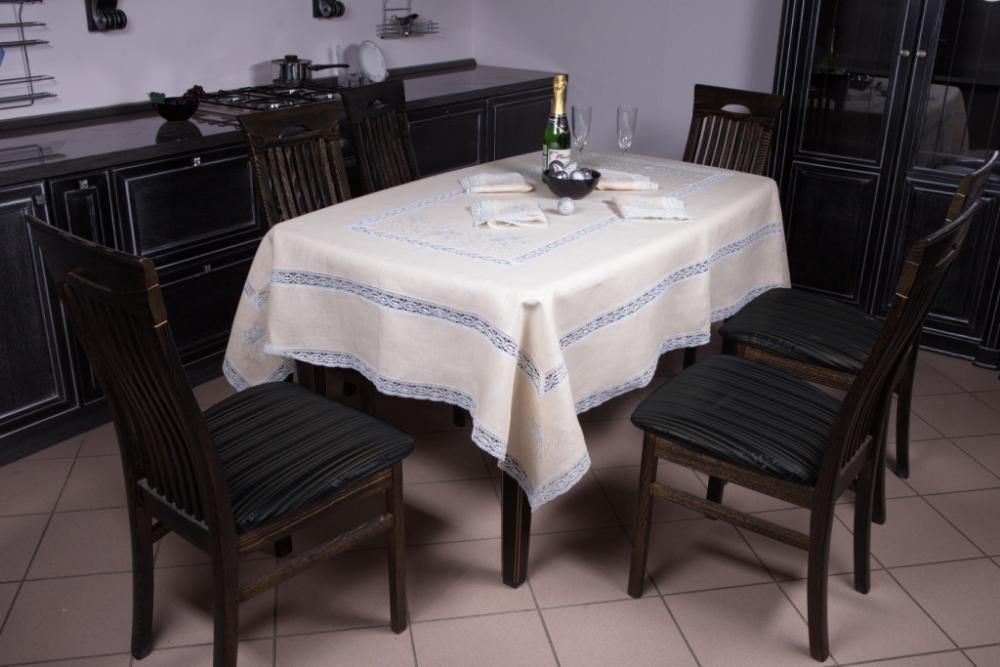 """Set of table linen """"Snow"""""""