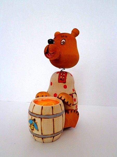 "Tver souvenirs / Fairy-tale characters ""Toptyzhka"""