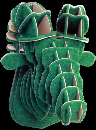 3D figure – Head bighorn sheep KV Green