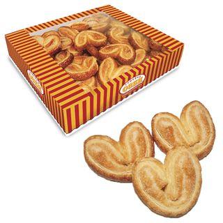 "OZBI FAMILY / Cookies ""Mini-buns"", ears with sugar, 500 g, corrugated box"