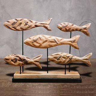 """Wooden figurine """"Fish"""""""