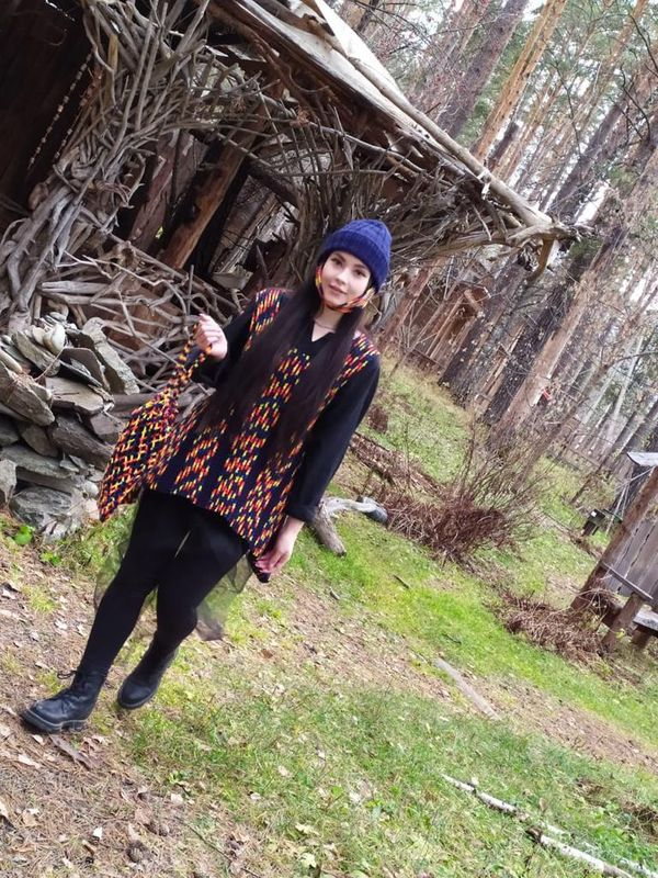 Woolen waistcoat, handmade